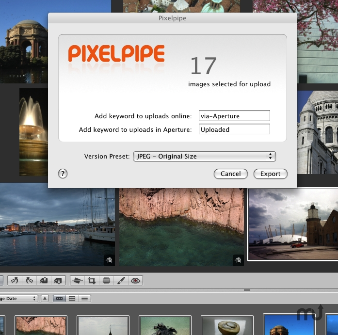 Screenshot 1 for Pixelpipe for Aperture