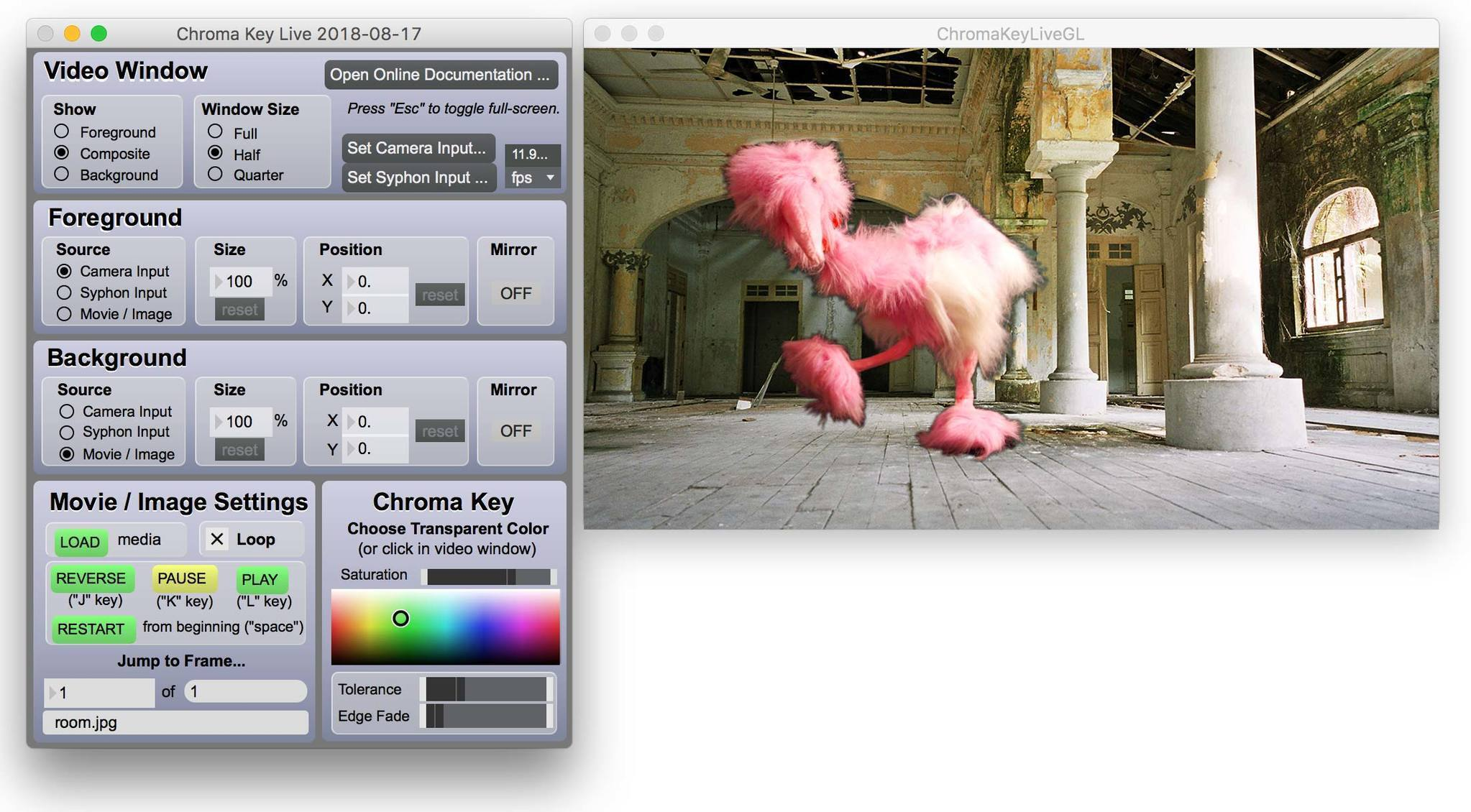 Chroma Key Live 7 3 5 Free Download for Mac | MacUpdate