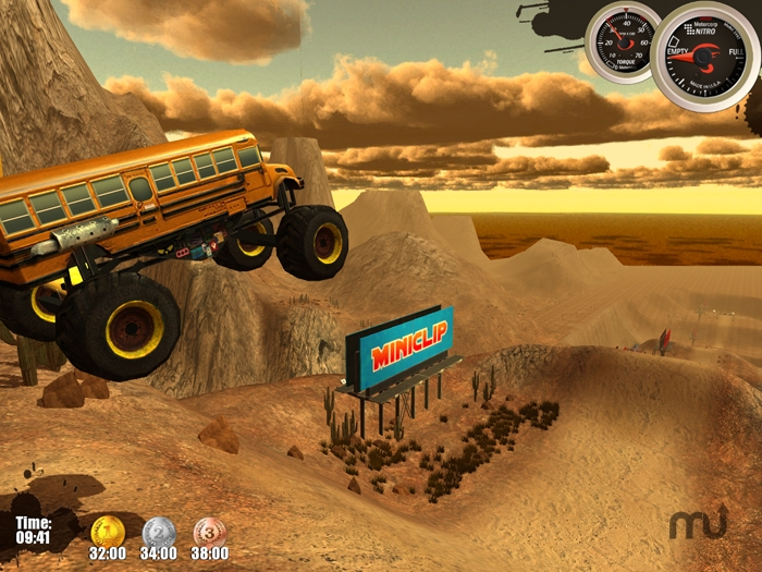 Screenshot 1 for Monster Trucks Nitro
