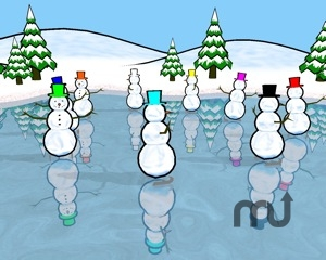Screenshot 1 for Snowmen Saver