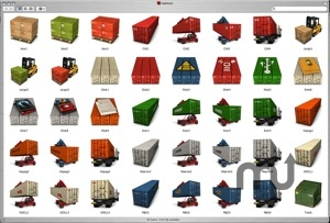 Screenshot 1 for Container Icons Set