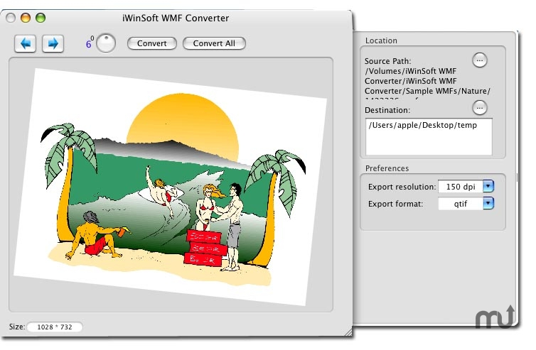 Screenshot 1 for WMF Converter