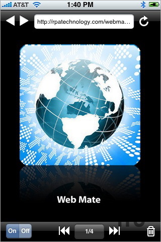 Screenshot 1 for Web Mate: Tabbed Browser