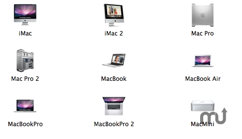 Screenshot 1 for Mac Products Icons