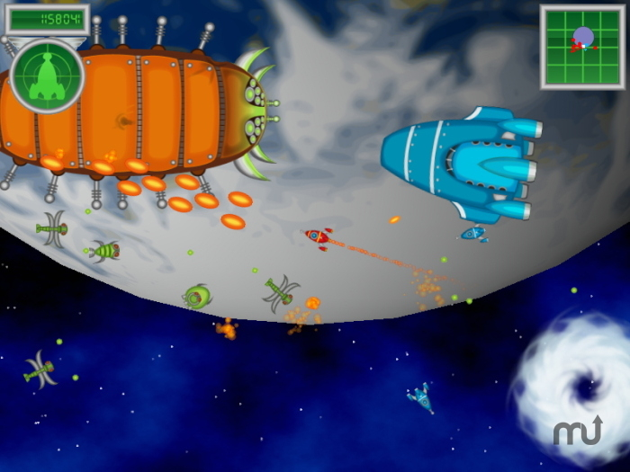 Screenshot 1 for The Adventures of Rick Rocket