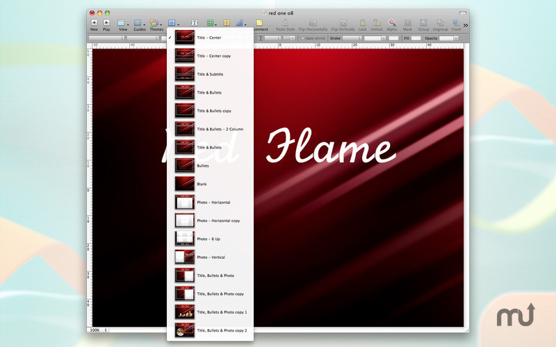 Screenshot 4 for Motion Themes for Keynote