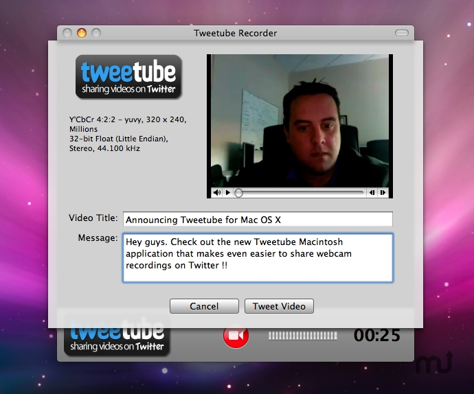 Screenshot 1 for Tweetube