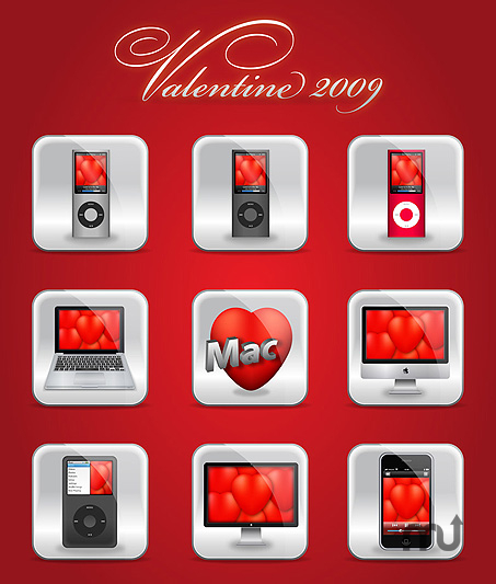 Screenshot 1 for Valentine Icons