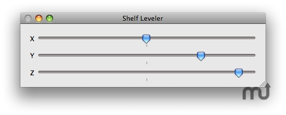 Screenshot 1 for Shelf Leveler
