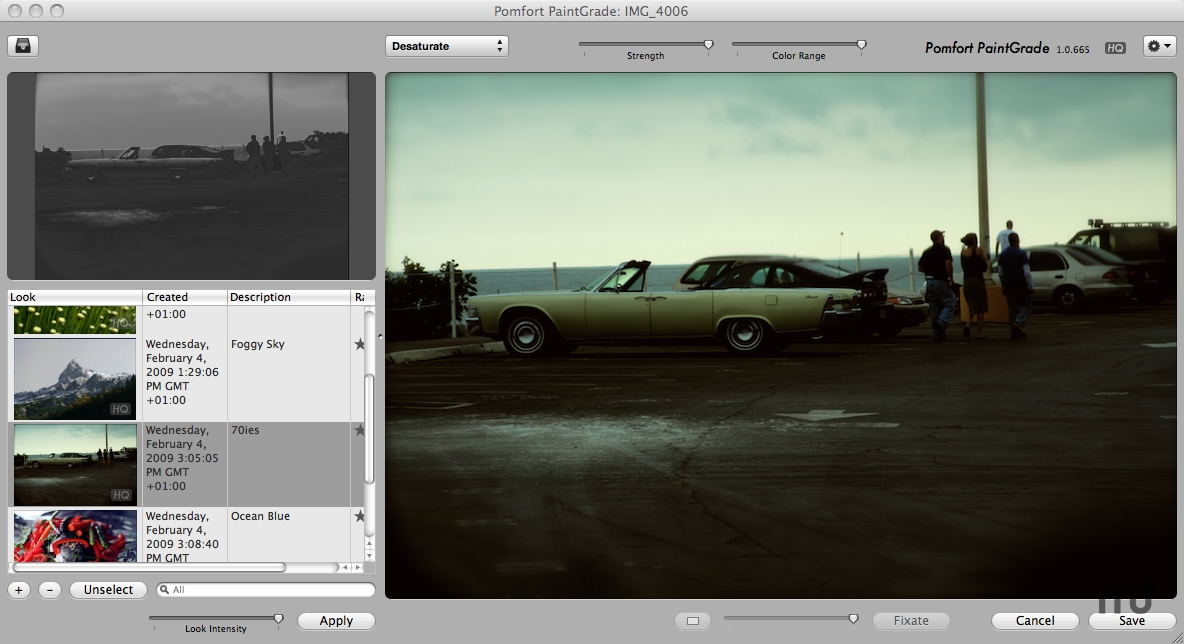 Screenshot 1 for PaintGrade for Aperture