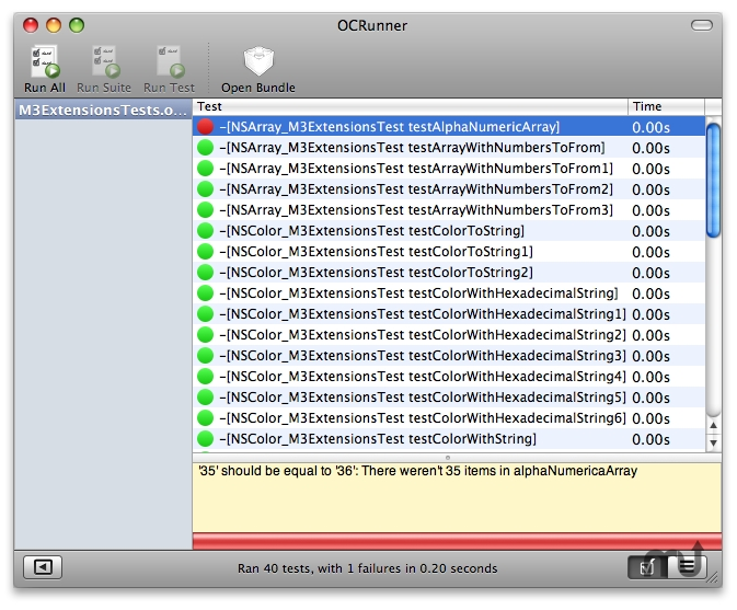 Screenshot 1 for OCRunner