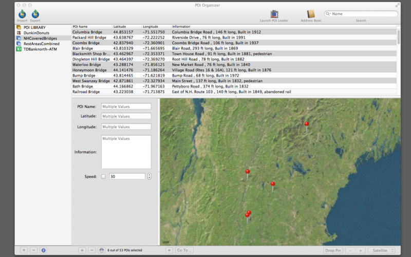 Screenshot 2 for POI Organizer