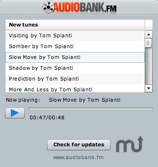 Screenshot 1 for AudioBank Player