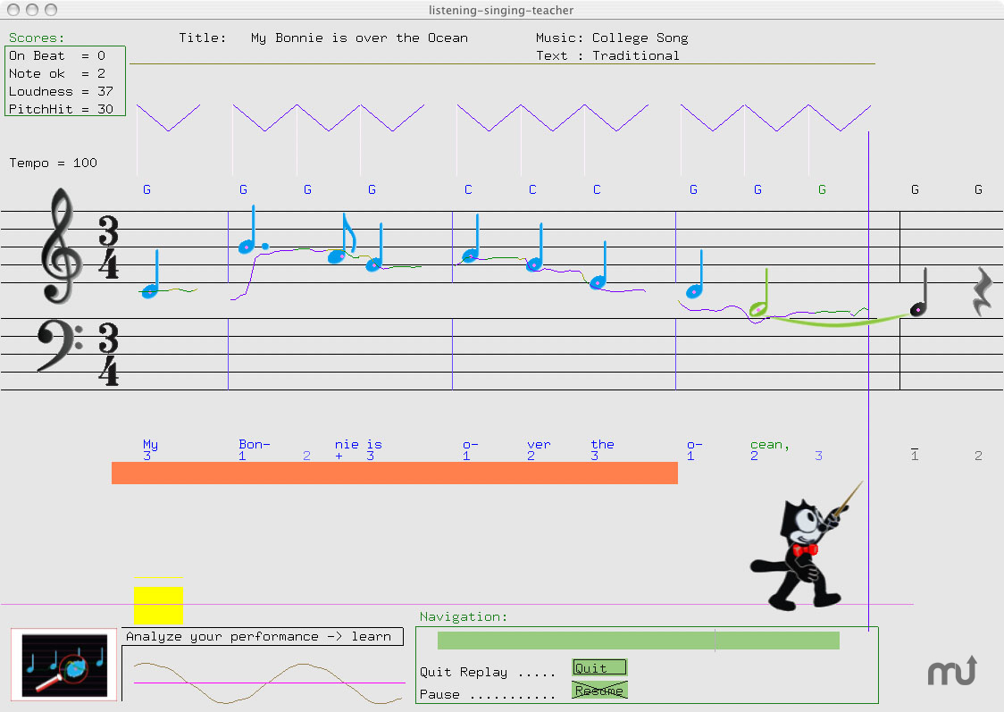 Screenshot 1 for Listening Singing Teacher