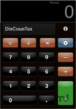 Screenshot 1 for DiscounTax