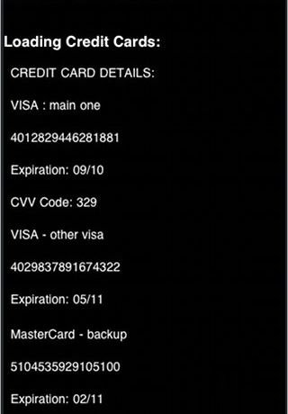 Screenshot 1 for Credit Cards Trap : Stolen Phone Tracker