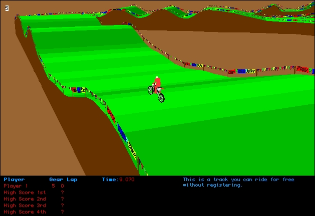 Screenshot 1 for Dirt Bike 3D
