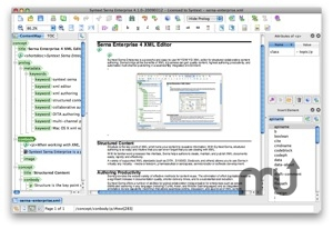 Screenshot 1 for Serna XML Editor