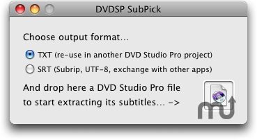 Screenshot 1 for DVDSP SubPick