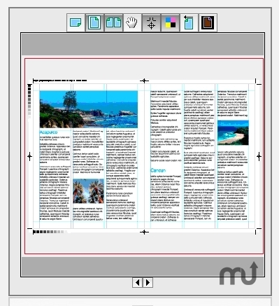 Screenshot 1 for Badia PrintPreview for QuarkXPress