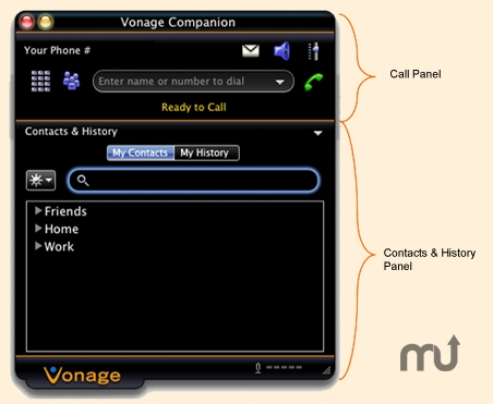 Screenshot 1 for Vonage Companion
