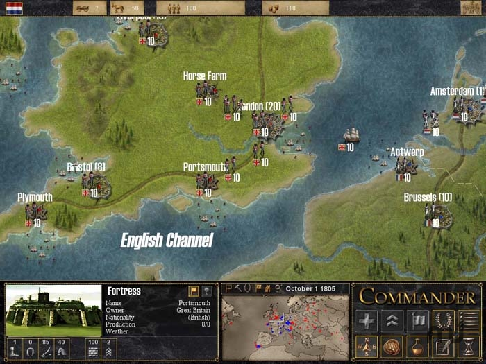 Screenshot 1 for Commander: Napoleon at War
