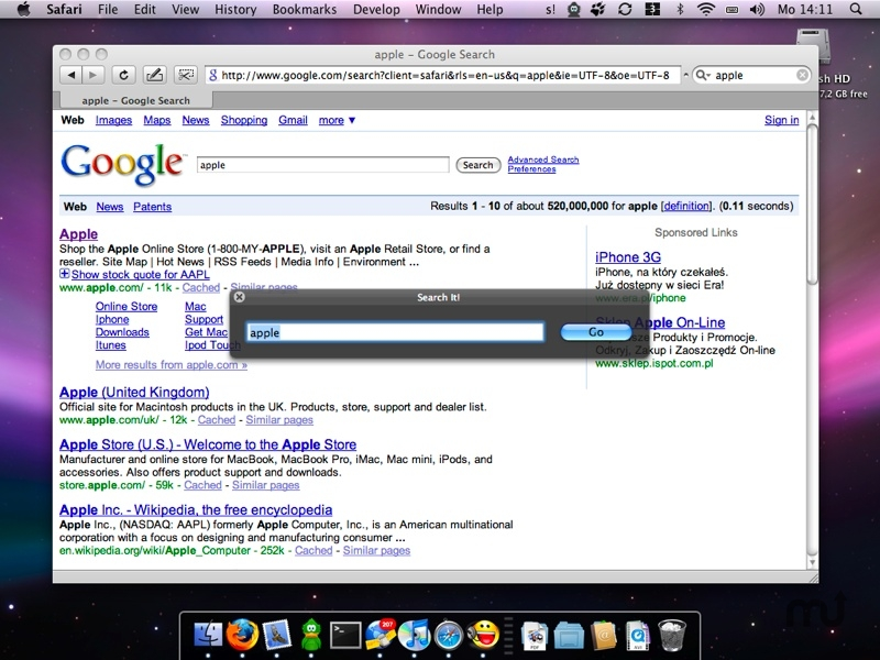 Screenshot 1 for Search It