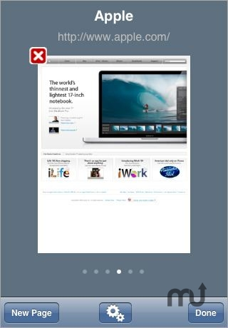 Screenshot 1 for Aquari: Secured Browser