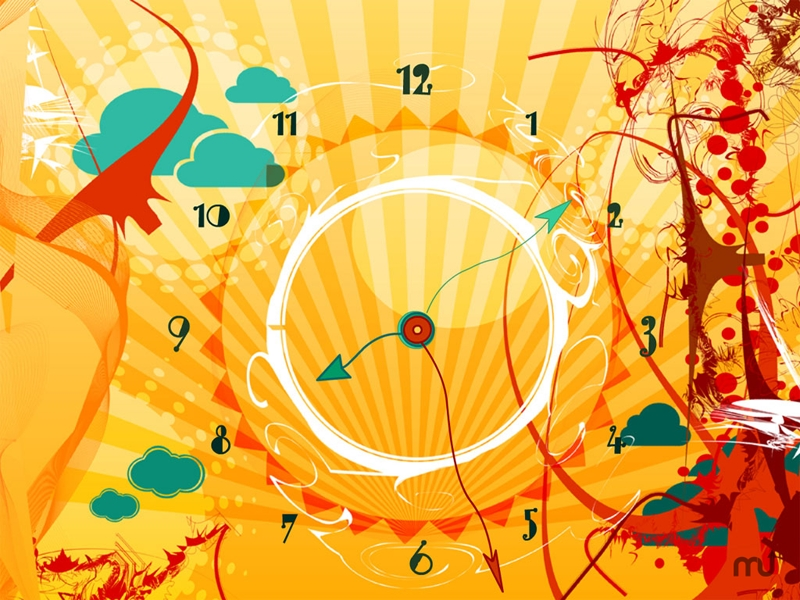Screenshot 1 for 7art AlienSun Clock