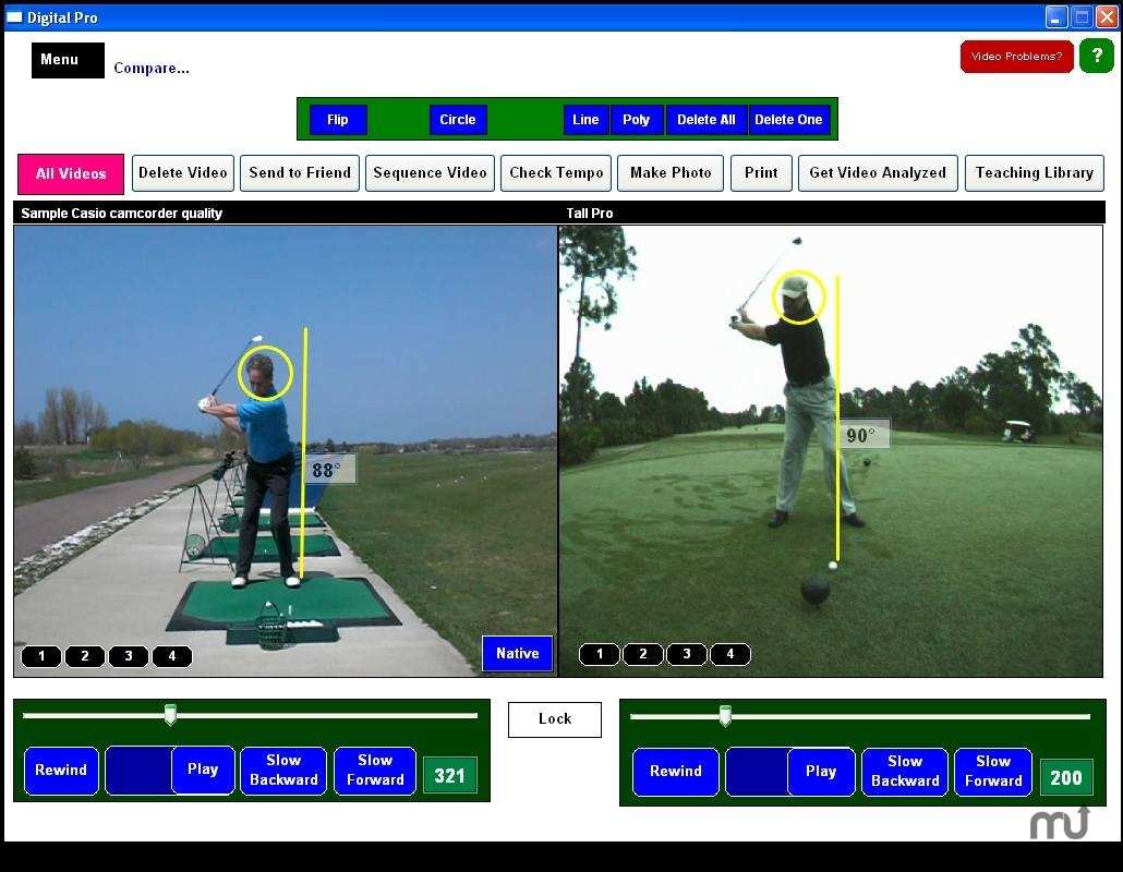 Screenshot 1 for Digital Pro Golf
