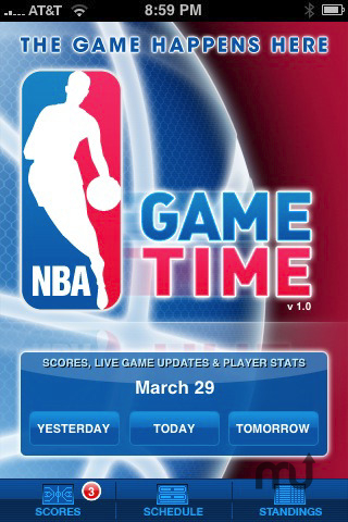 Screenshot 1 for NBA Game Time