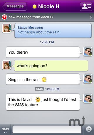 Screenshot 1 for Yahoo! Messenger