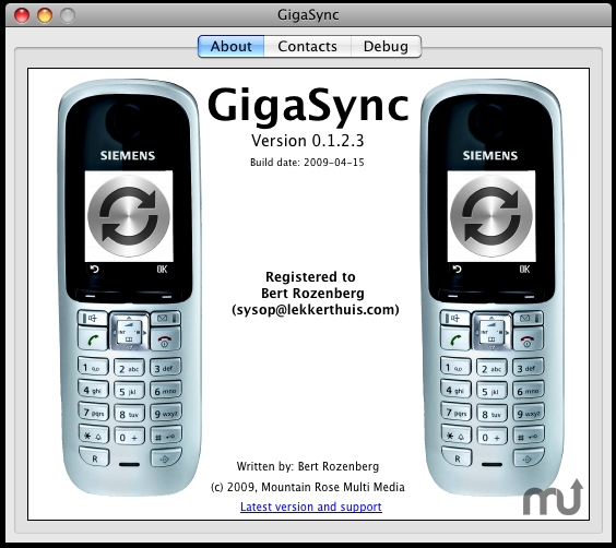 Screenshot 1 for GigaSync