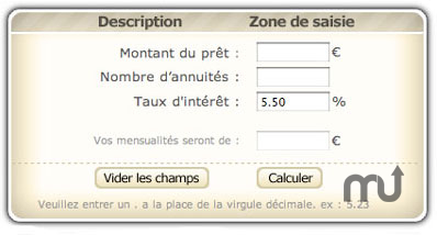 Screenshot 1 for Calcul de pret
