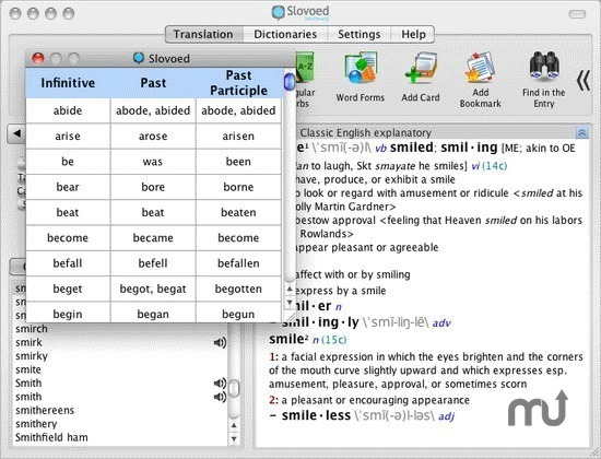 Screenshot 1 for Slovoed Classic English Explanatory Dictionary