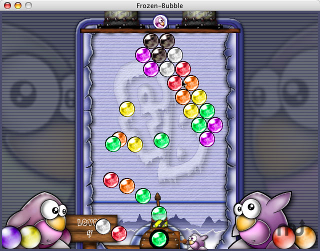 Screenshot 1 for Frozen-Bubble