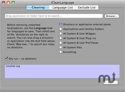 Screenshot 1 for iCleanLanguage