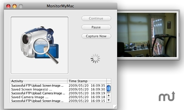 Screenshot 1 for MonitorMyMac