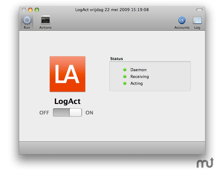 Screenshot 1 for LogAct