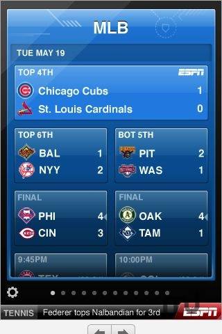 Screenshot 1 for ESPN ScoreCenter