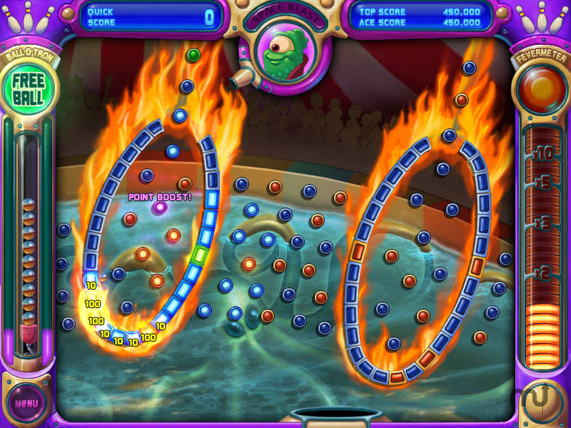 Screenshot 1 for Peggle Nights