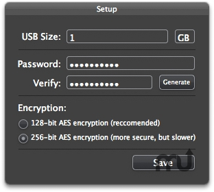 Screenshot 1 for iEncrypt