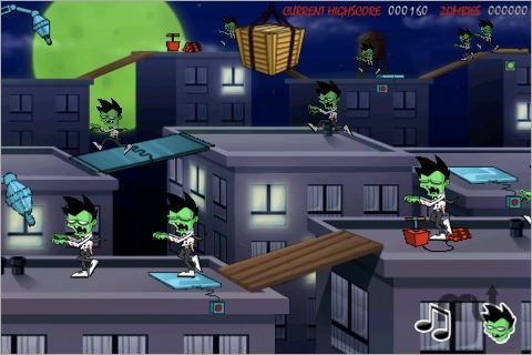 Screenshot 1 for Zombie Assault