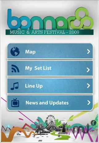 Screenshot 1 for Bonnaroo OFFICIAL app