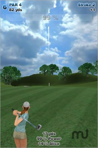 Screenshot 1 for Anytime Golf: Magic Touch