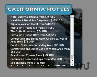 Screenshot 1 for California Hotels