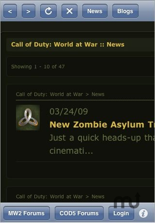 Screenshot 1 for COD Assistant