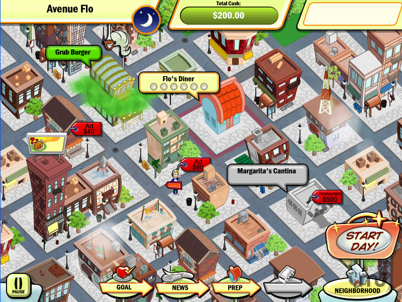 Screenshot 1 for DinerTown Tycoon