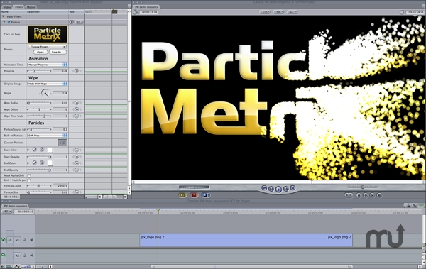 Screenshot 1 for ParticleMetrix