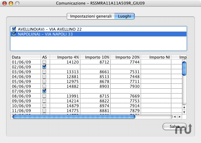 Screenshot 1 for Corrispettivi Grande Distribuzione